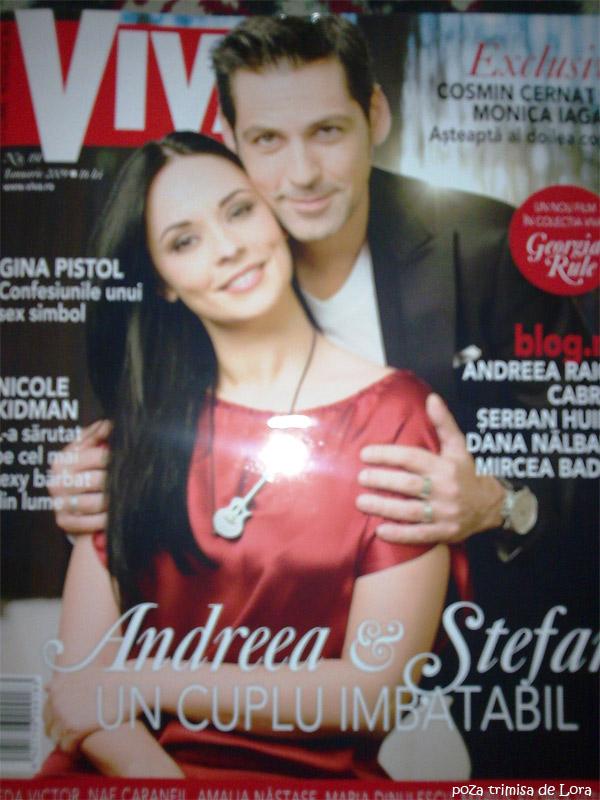 Viva! Romania:: Ianuarie 2009 :: Andreea Marin-Banica si Stefan Banica jr.