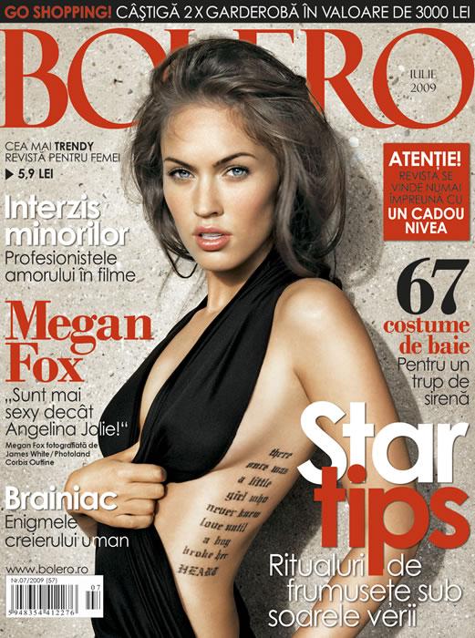 Bolero :: Megan Fox :: Iulie 2009