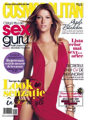 Coperta revistei Cosmopolitan, Iunie 2008