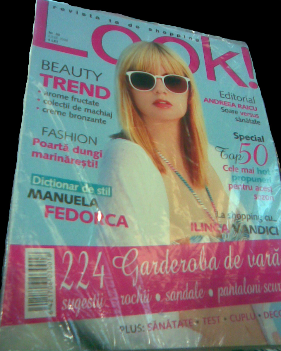 Coperta revistei Look!, Iunie 2008