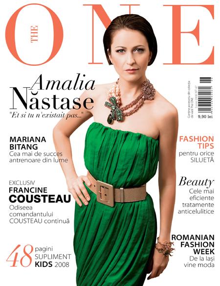 Coperta revistei The One, Iunie 2008