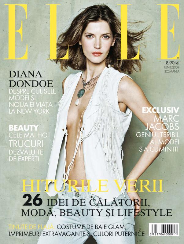Elle Romania :: Diana Dondoe :: Iunie 2009