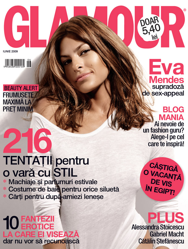 Glamour Romania :: Eva Mendes :: Iunie 2009