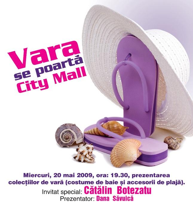 City Mall Bucuresti :: Prezentarea colectiilor de vara :: 20 Mai 2009