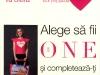 """Promo The One :: Geanta de vara cu imprimeu """"Fata citind revista"""" :: Iunie 2009"""