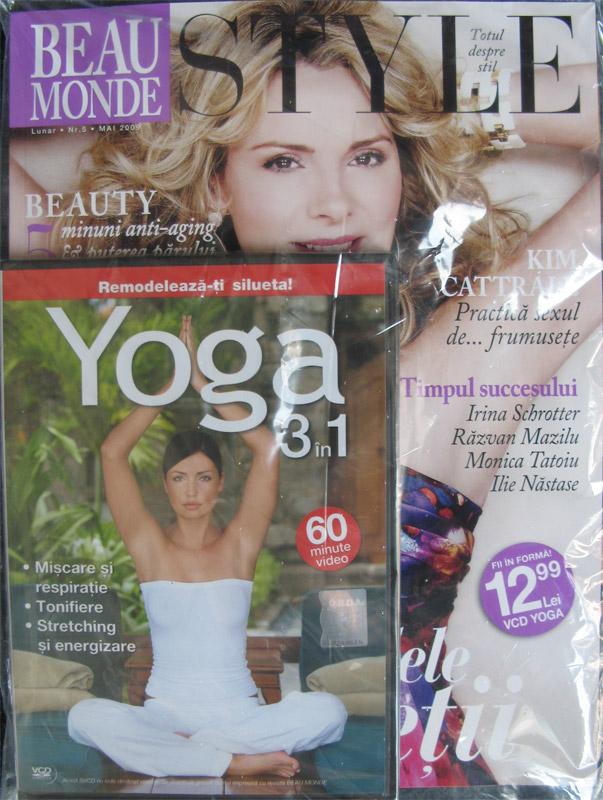 Beau Monde Style :: VCD Yoga 3 in 1 :: Mai 2009