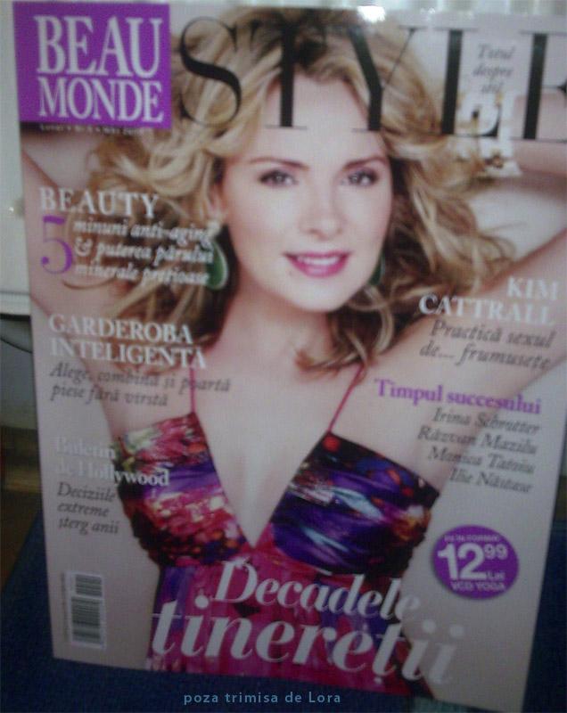 Beau Monde Style :: Kim Cattrall :: Mai 2009