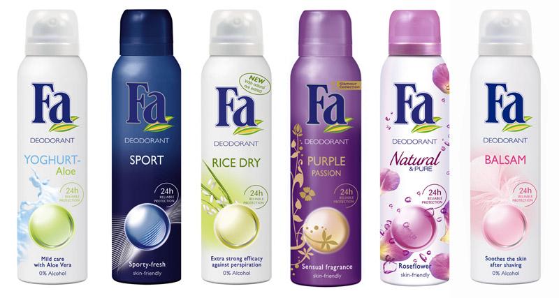 Deodorante FA, cadou la revista Femeia. de Mai 2009