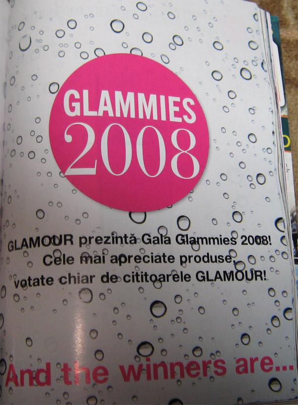 Gala Glammies 2008 :: revista Glamour :: Mai 2009