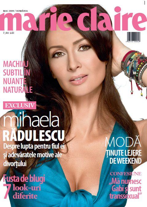 Marie Claire Romania :: Mihaela Radulescu :: Mai 2009