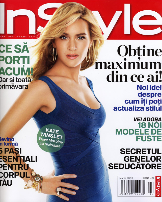 InStyle Romania :: Kate Winslet :: Martie 2009