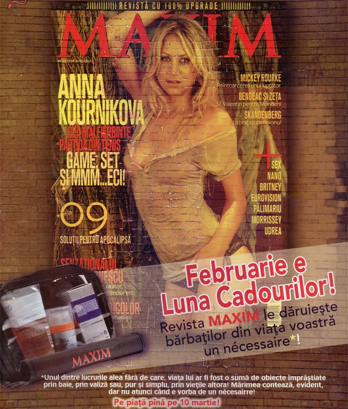 Maxim :: Necessaire masculin :: Martie 2009