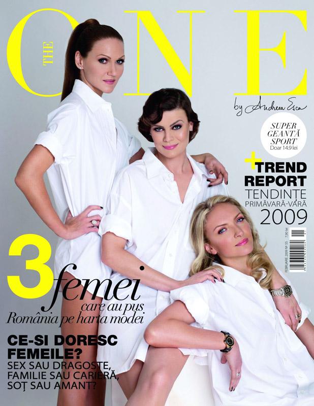 The One :: Catalina Isopescu, Anca Partouche si Claudia Gaspar :: Martie 2009