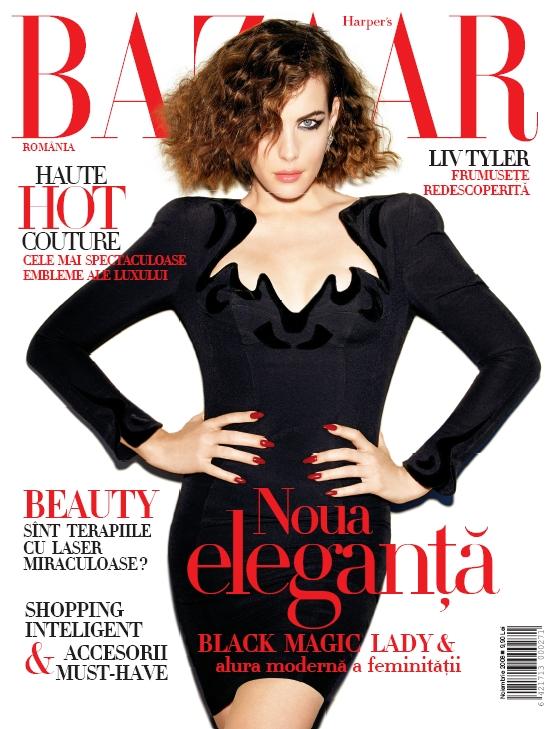 Coperta revistei Harper´s Bazaar, Noiembrie 2008