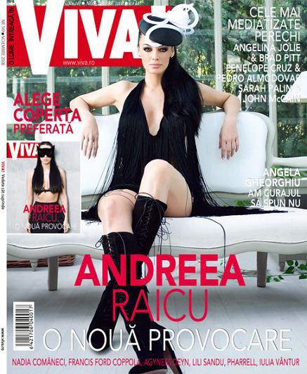 Viva! Romania :: Andreea Raicu :: Noiembrie 2008