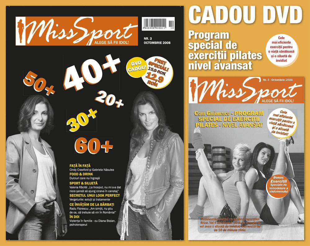 Miss Sport :: Cindy Crawford :: Gabriela Nasulea :: Octombrie 2008