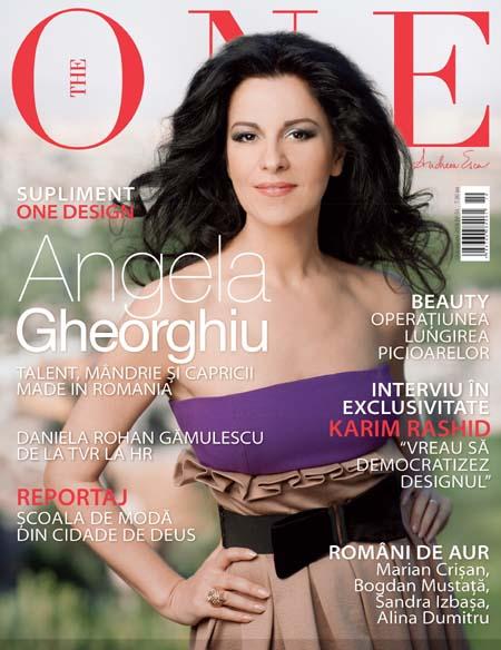 Coperta revistei The One, Octombrie 2008