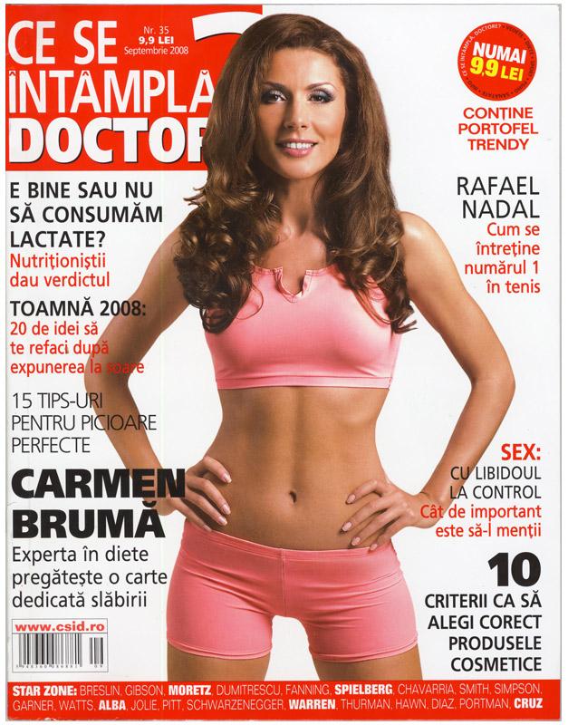Coperta revistei Ce se intampla doctore?, Septembrie 2008