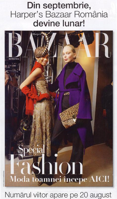 Promo Harper\'s Bazaar, Septembrie 2008