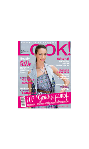 Coperta revistei Look!, Septembrie 2008