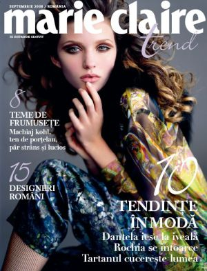 Supliment Marie Claire Trend, Septembrie 2008