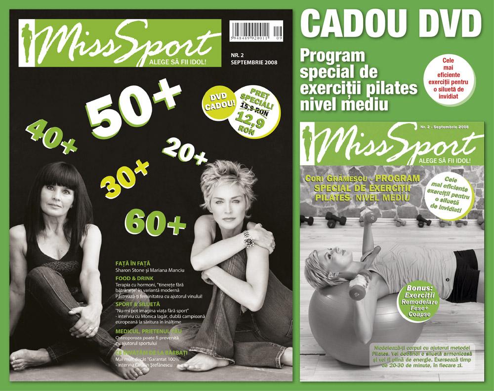 Miss Sport :: Sharon Stone :: Mariana Manciu :: Septembrie 2008