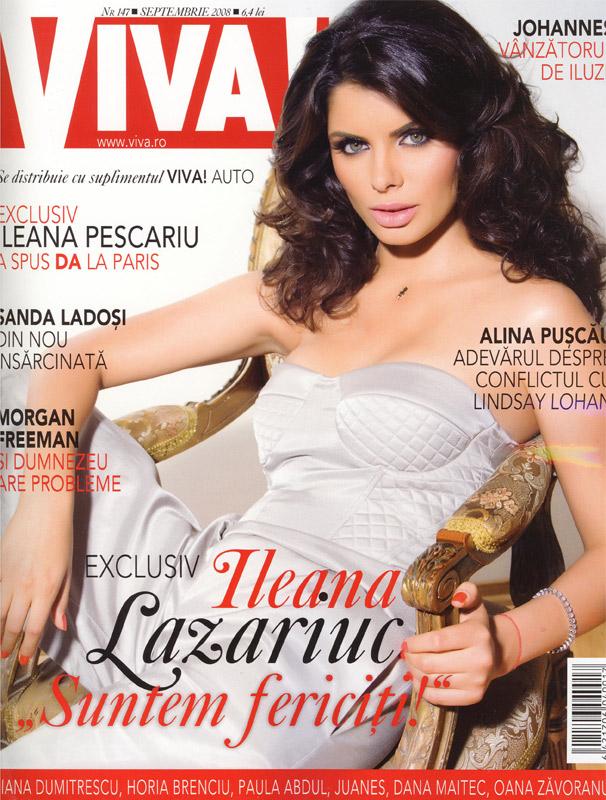Coperta revistei Viva!, Septembrie 2008