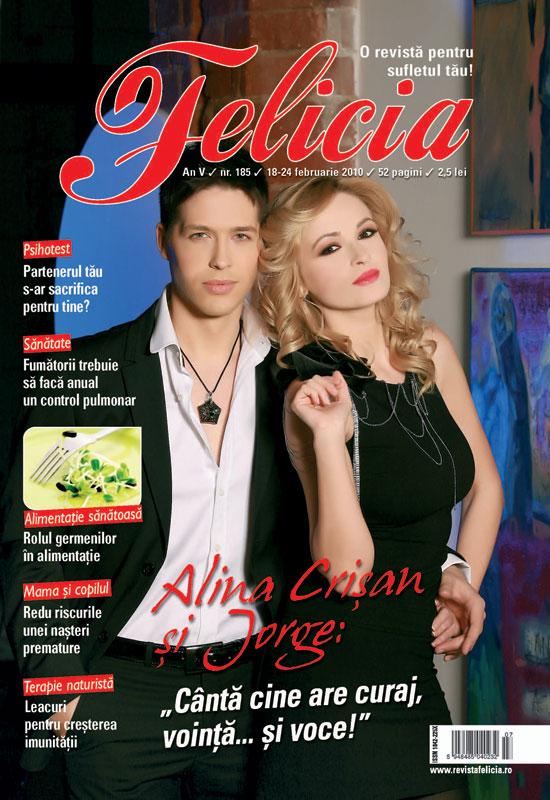 Felicia ~~ Coperta: Alina Crisan si Jorge ~~ 18 Februarie 2010