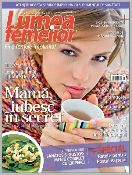 Lumea Femeilor ~~ 3 Februarie 2010