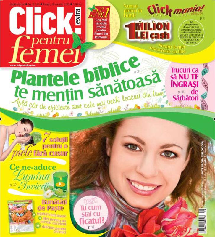 Click pentru femei ~~ 26 Martie 2010