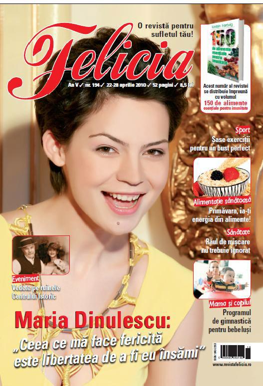 Felicia ~~ Maria Dinulescu ~~ 22 Aprilie 2010