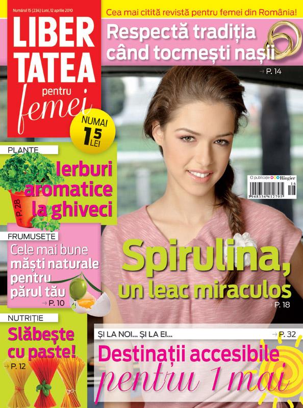 Libertatea pentru femei ~~ Numarul 15 ~~ 12 Aprilie 2010