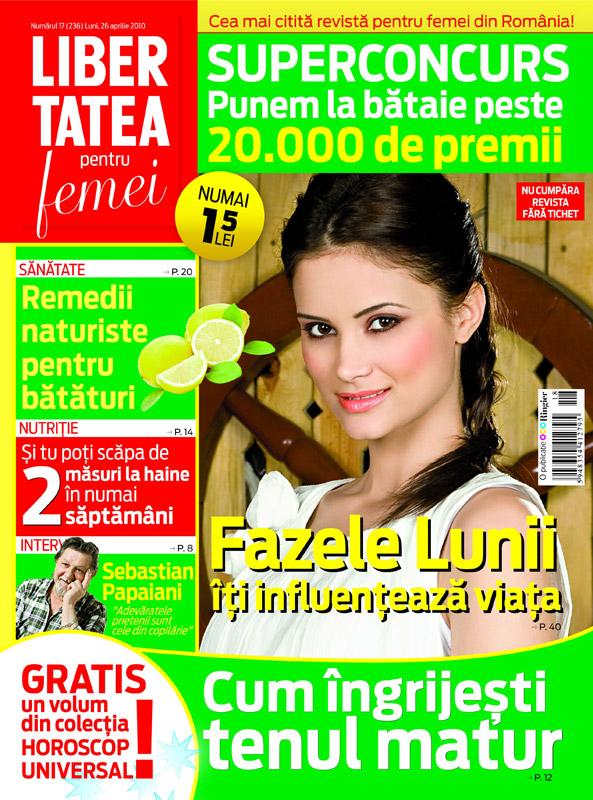 Libertatea pentru femei ~~ Numarul 17 ~~ 26 Aprilie 2010