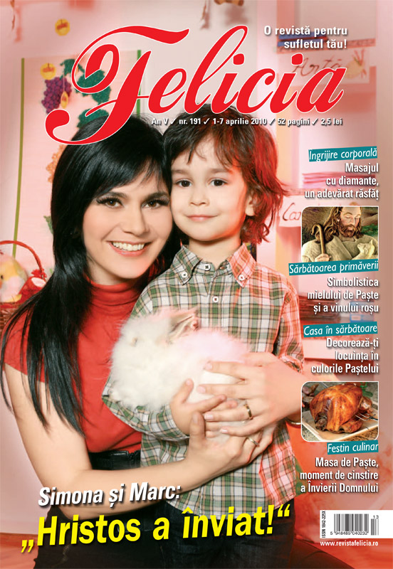 Felicia ~~ Simona Balanescu si fiul ei Marc ~~ 1 Aprilie 2010