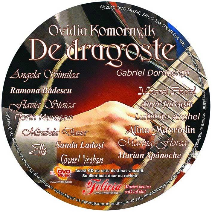 Felicia ~~ CD Cantece de dragoste ~~ 6 Mai 2010