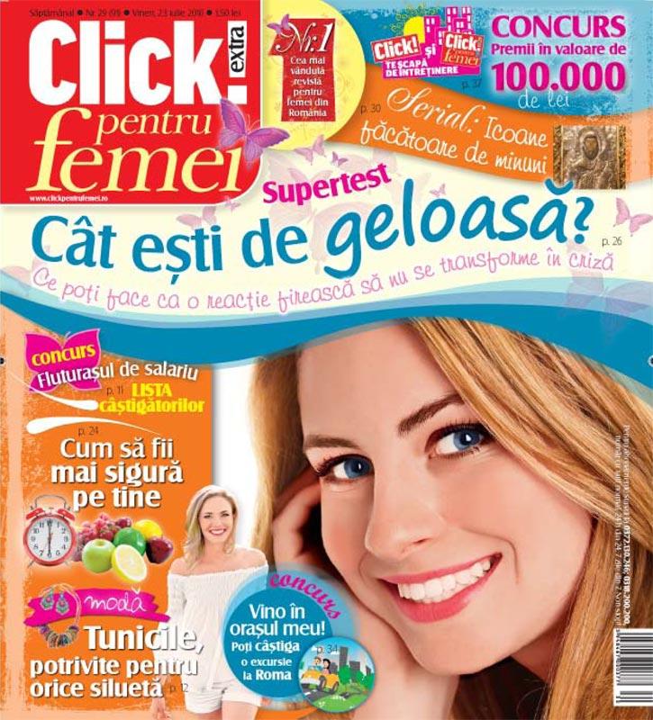 Click pentru femei ~~ Cat esti de geloasa? ~~ 23 Iulie 2010