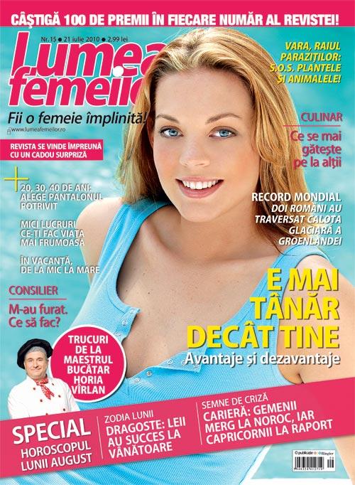 Lumea femeilor ~~ 21 Iulie 2010