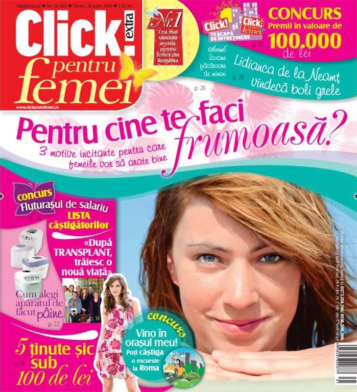 Click pentru femei ~~ Pentru cine te faci frumoasa ~~ 30 Iulie 2010