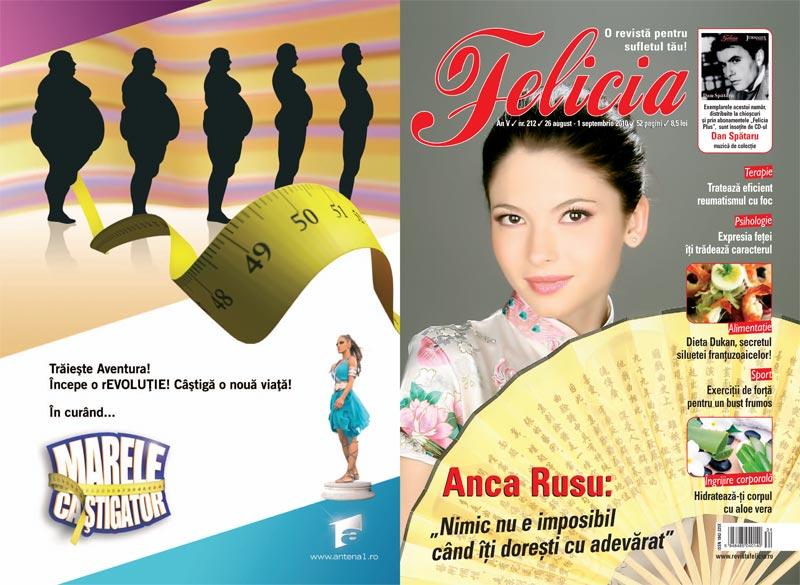 Felicia ~~ Coperta: Anca Rusu ~~ CD Dan Spataru ~~ 26 August 2010