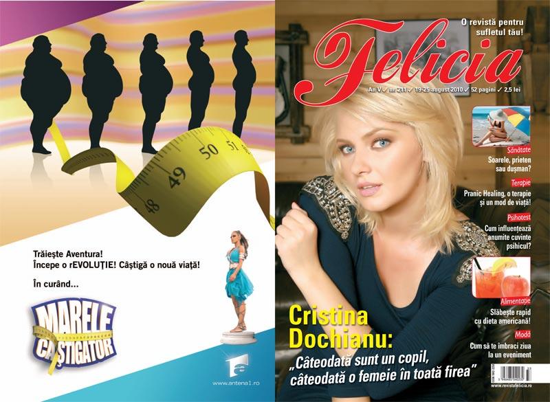 Felicia ~~ Coperta: Cristina Dochianu ~~ 19 August 2010