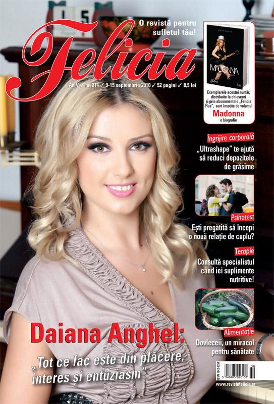 Felicia ~~ Coperta: Daiana Anghel ~~ 9 Septembrie 2010