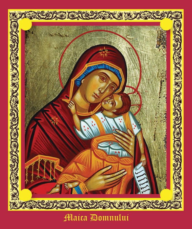 Iconita Sfintei Maria, cadou la revista Libertatea pentru femei ~~ 6 Septembrie 2010