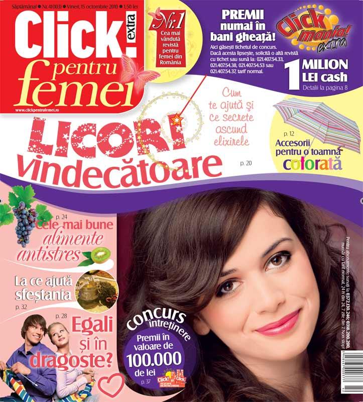 Click pentru femei ~~ 15 Octombrie 2010