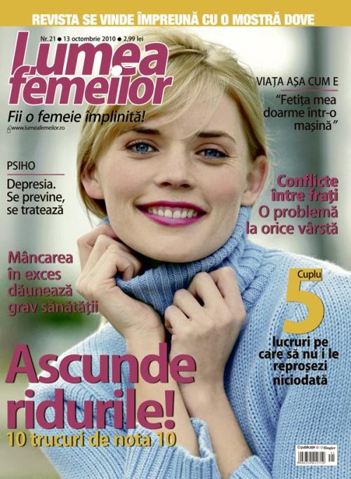 Lumea Femeilor ~~ 13 Octombrie 2010