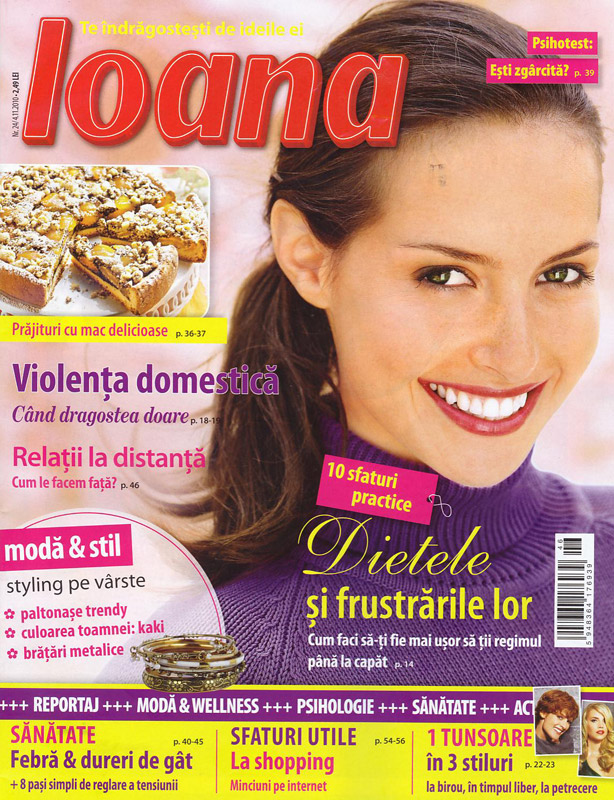 Ioana ~~ numarul 24 ~~ 18 Noiembrie 2010