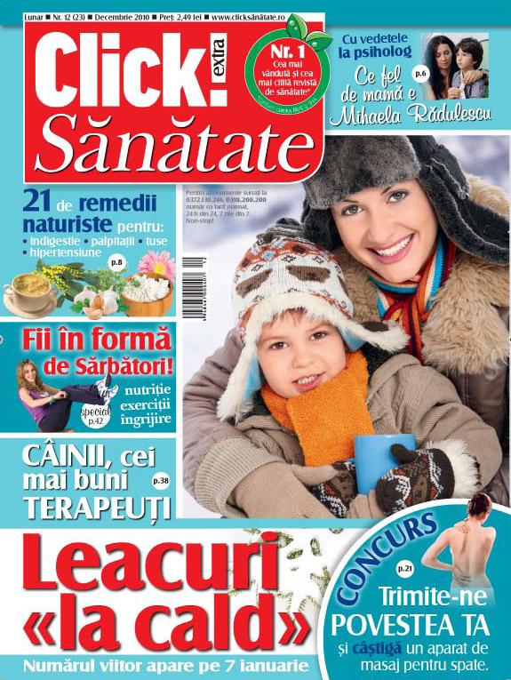 Click Sanatate ~~ Decembrie 2010
