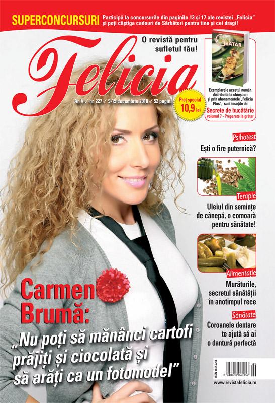 Felicia ~~ Coperta: Carmen Bruma ~~ 9 Decembrie 2010