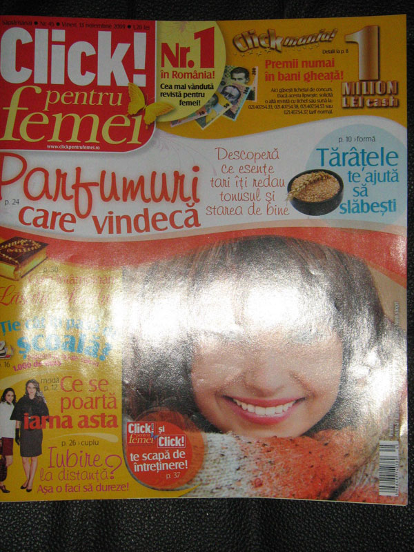 Click pentru femei ~~ 18 Decembrie 2009