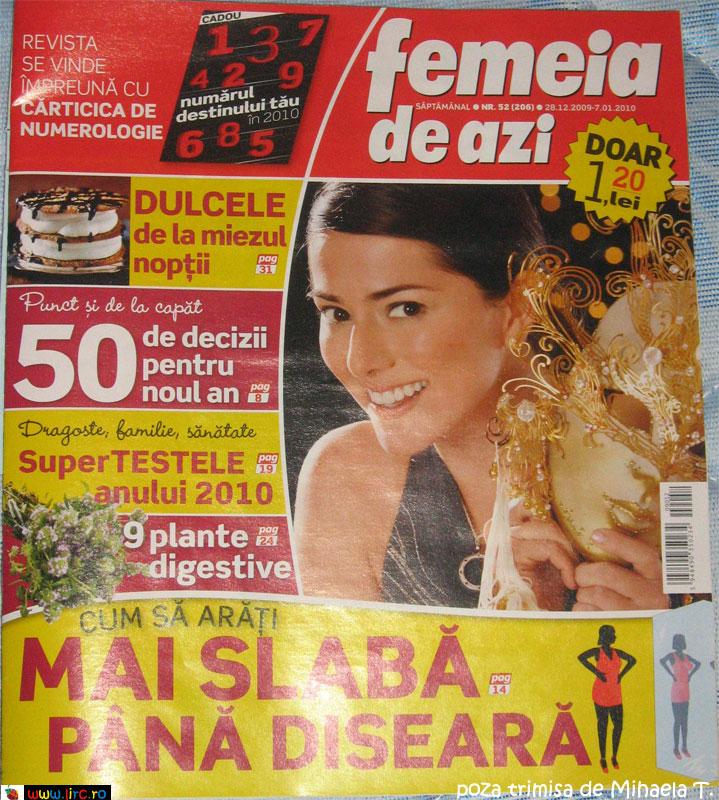 Femeia de azi ~~ 28 Decembrie 2009