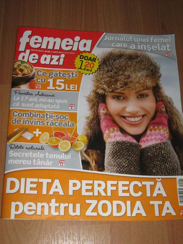 Femeia de azi ~~ 8 Ianuarie 2010